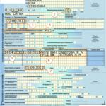 Образец заполнения больничного листа по беременности и родам
