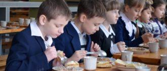Оформление бесплатного питания в школе
