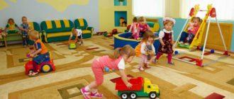 Компенсация части родительской платы за детский сад