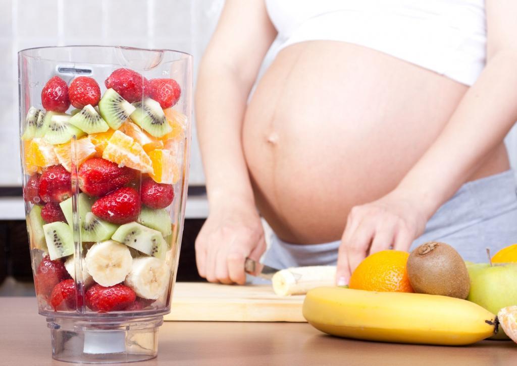 Получение питания беременным
