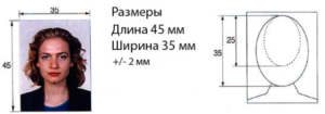 Размер фотографий